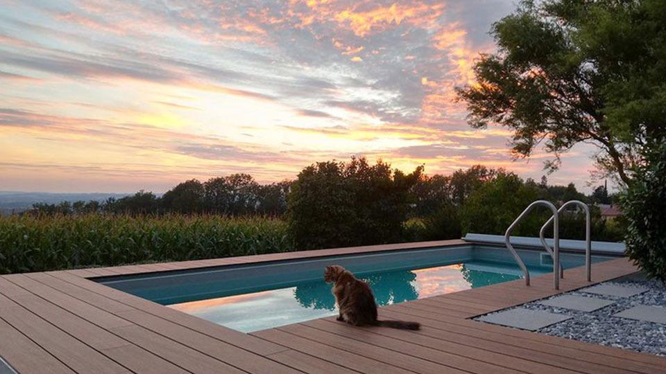 Sommer, Sonne, Schwimmspass